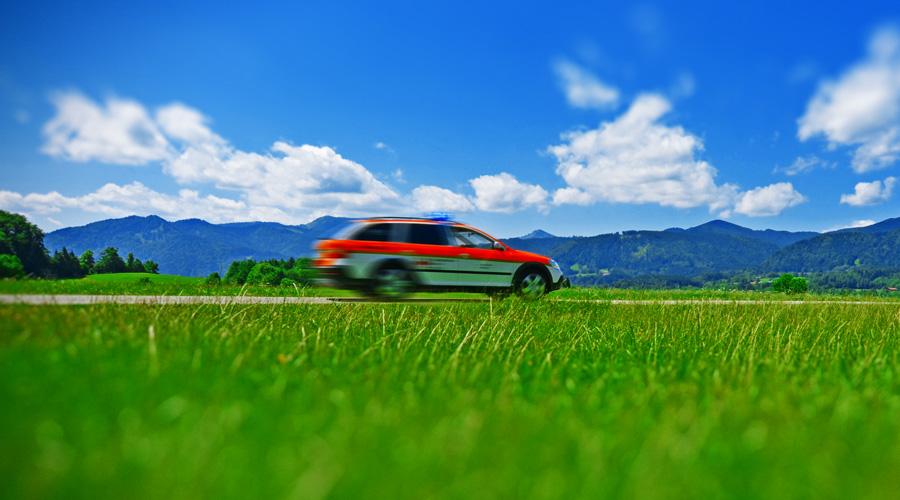 Fahrertraining für Notärzte